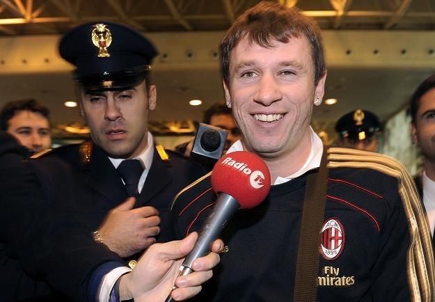 Antonio Cassano poleciał z Milanem na zgrupowanie do Dubaju /AFP