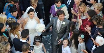 Antonio Conte i jego wybranka Elisabetta Muscarello