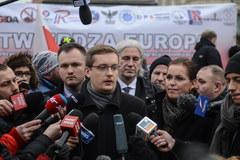 Antyimigrancka demonstracja w Warszawie