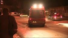 Antyterroryści opuszczają miejsce akcji przy ul. Cegielnianej [FILM]