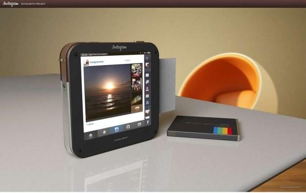 Aparat ma posiadać duży ekran dotykowy i działać pod kontrolą systemu... InstaOS 1.0 /materiały prasowe