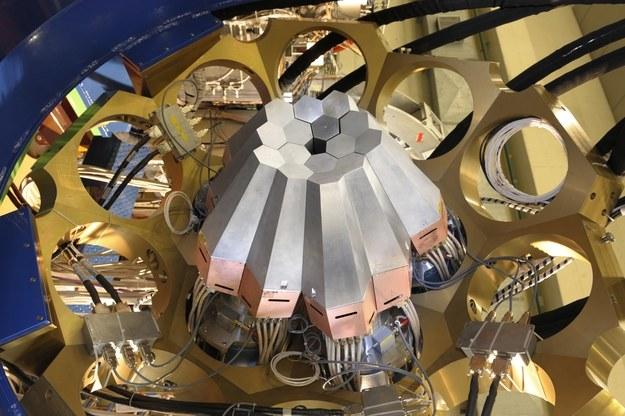 Aparatura wykorzystana w eksperymencie Fot. IFJ PAN /materiały prasowe