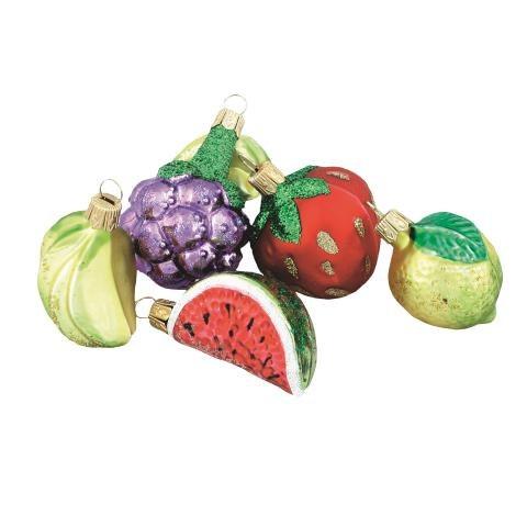 Apetyczne szklane owoce, ręcznie  malowane, śr. 4-5 cm, Vitbis, 25 zł/6 szt. /Mat. Prasowe