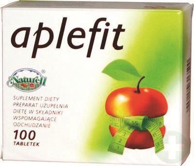 APLEFIT  Tabletki zawierające ocet jabłkowy, który poprawia proces trawienia i przyspiesza metabolizm,  25 zł/100 szt. /Mat. Prasowe