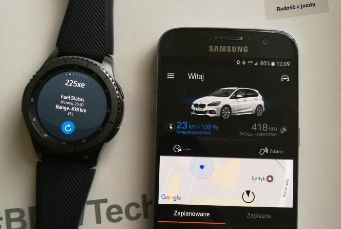 Aplikacja BMW Connected - stały dostęp do informacji o pojeździe /INTERIA.PL