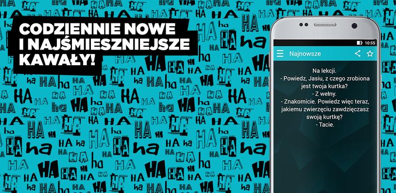 Aplikacja Kawały /interia /INTERIA.PL