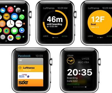 Aplikacja Lufthansy już dostępna także na Apple Watch