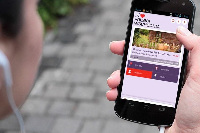 Aplikacja mobilna I LOVE POLSKA WSCHODNIA to interaktywna forma promocji /materiały prasowe