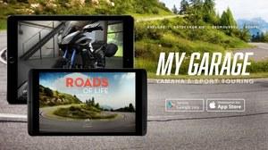 """Aplikacja """"My Garage"""" dla motocykli Yamahy"""