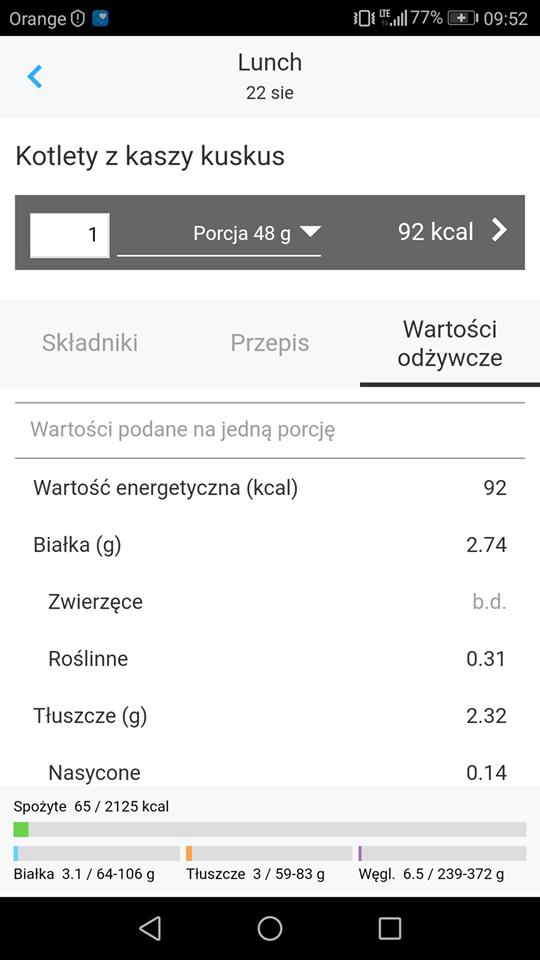 Aplikacja obliczająca kaloryczność potraw i nie tylko /INTERIA.PL