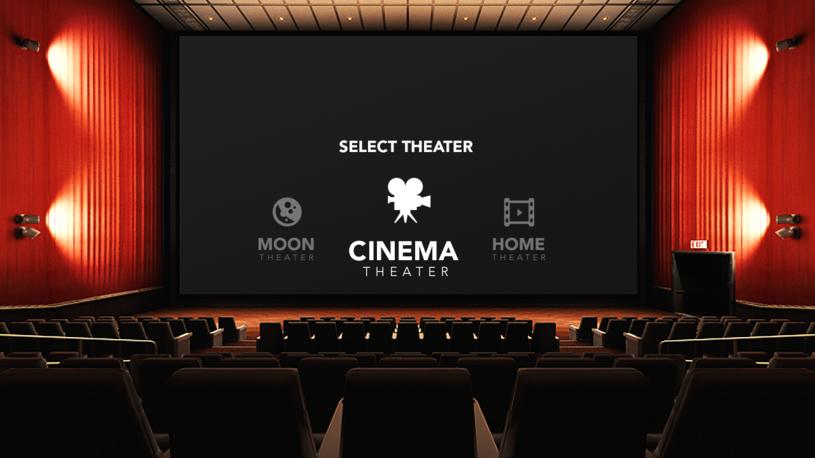 Aplikacja Oculus Cinema /materiały promocyjne
