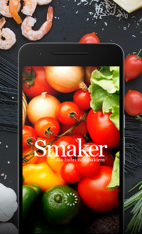 Aplikacja Smaker /INTERIA.PL