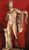 Apollo Belwederski, 350-320 p.n.e. /Encyklopedia Internautica