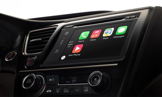 Apple CarPlay /materiały prasowe