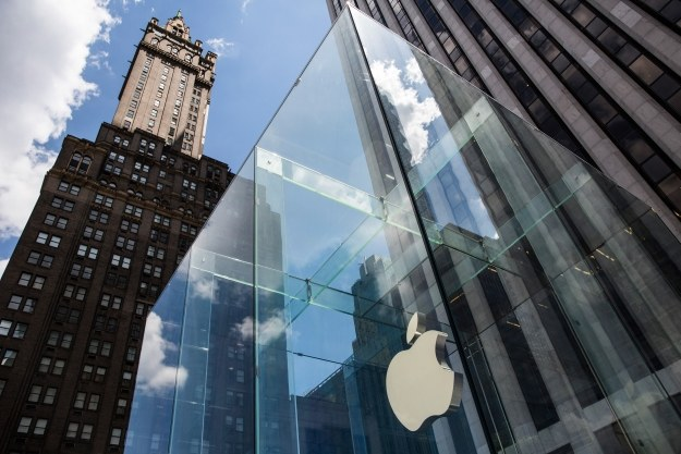 Apple rządzi u siebie /AFP