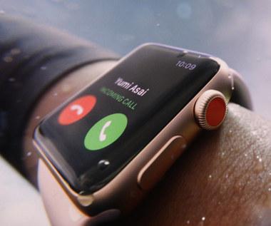 Apple Watch Series 3 - nie potrzebuje telefonu do działania