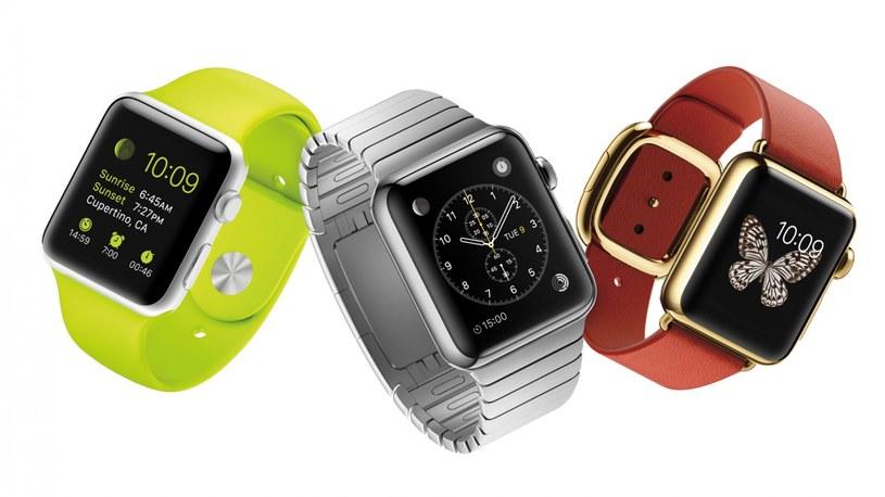 Apple Watch w trzech odsłonach /materiały prasowe
