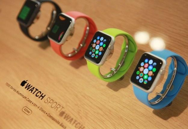 Apple Watch /AFP
