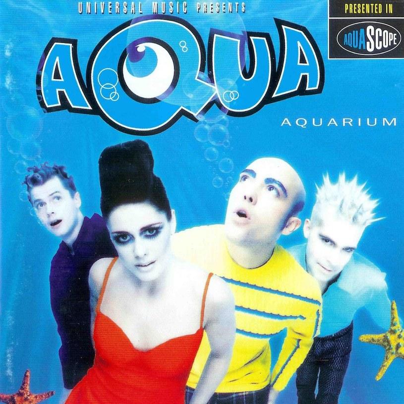 """Aqua na okładce płyty """"Aquarium"""" z 1997 roku /"""