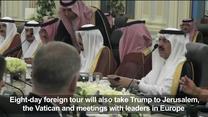 Arabia Saudyjska. Pierwsza zagraniczna wizyta Trumpa