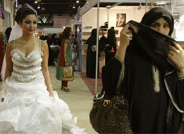 Arabskie kobiety również mają swoje wymagania /AFP
