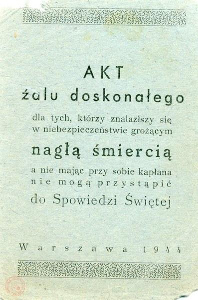 """Archiwum prof. Jerzego Świderskiego, ps. """"Lubicz"""""""