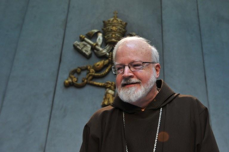 Arcybiskup Bostonu kardynał Sean O'Malley /AFP