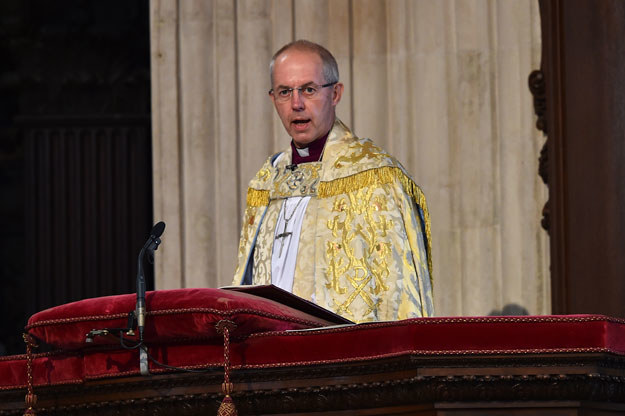 Arcybiskup Canterbury Justin Welby /AFP