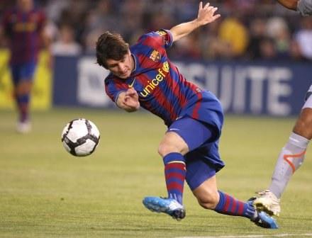 Argentyńczycy zagrają w Moskwie bez kontuzjowanego Lionela Messiego. /AFP