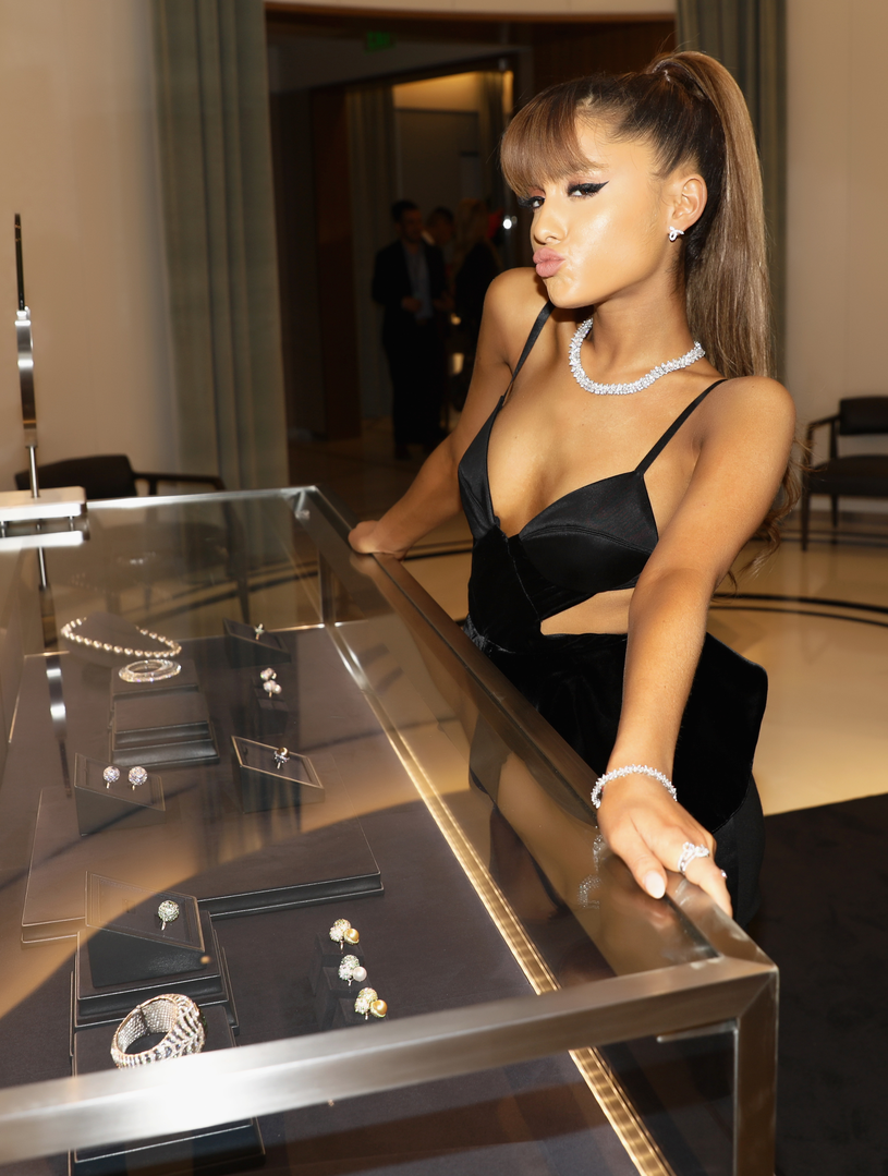 Ariana Grande /Handout /Getty Images