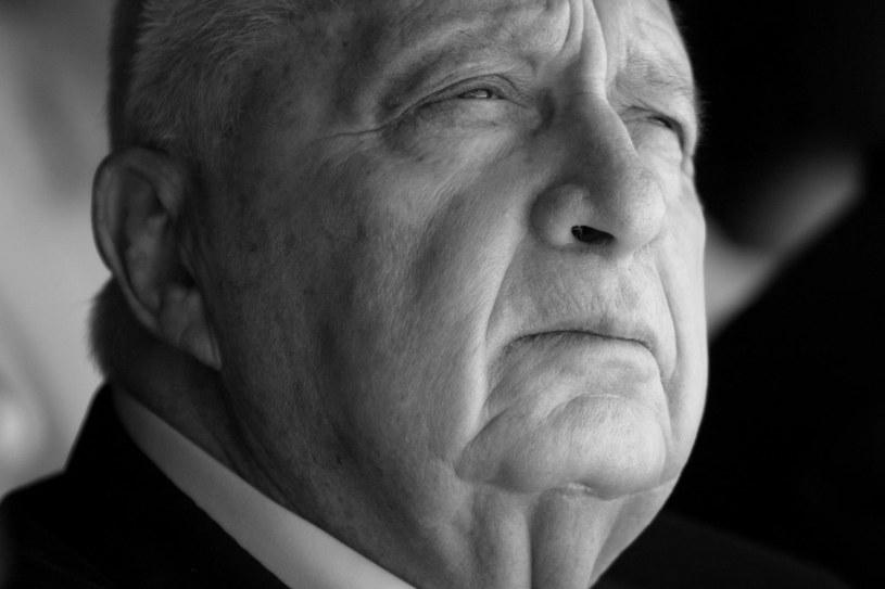 Ariel Szaron nie żyje /AFP