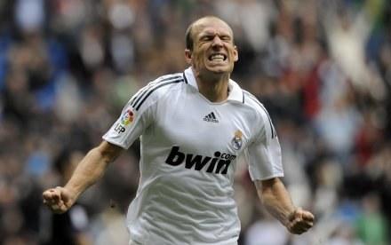 Arjen Robben nie zagra w meczu z Barceloną /AFP