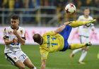 Arka Gdynia - Jagiellonia Białystok 4-1 w 13. kolejce Ekstraklasy