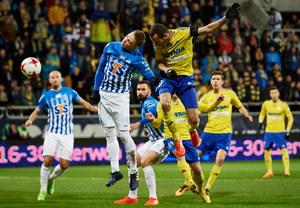 Arka Gdynia - Lech Poznań 1-4 w meczu 25. kolejki Ekstraklasy