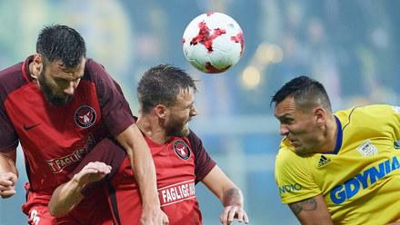 Arka Gdynia wygrała z FC Midtjylland. Zwycięska bramka padła w 93. minucie!
