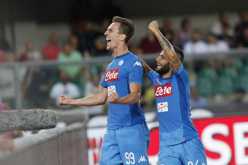 Arkadiusz Milik bardzo dobrze rozpoczął nowy sezon w Serie A /PAP/EPA