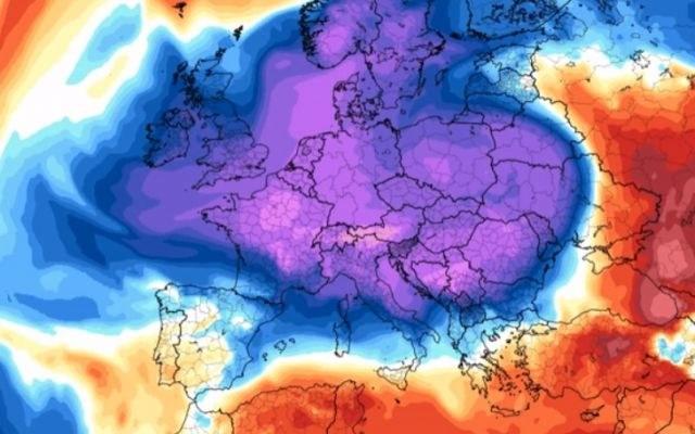 Arktyczna aura może potrwać do początków marca. /materiały prasowe