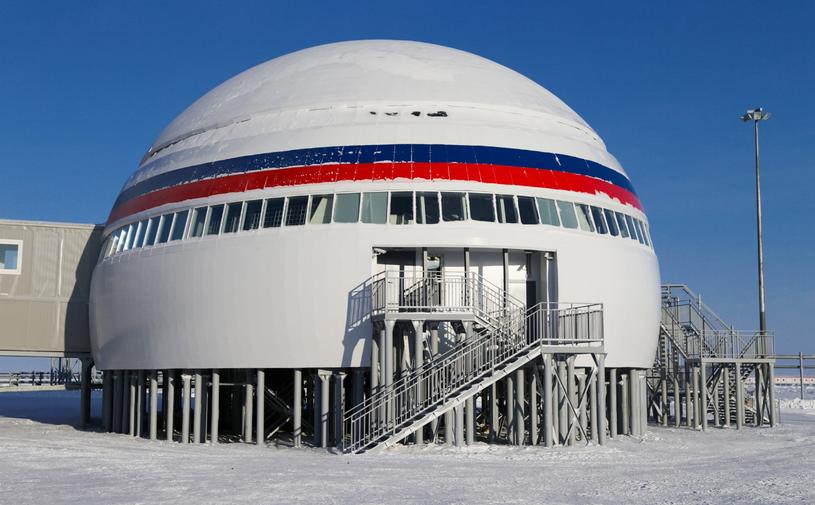 Arktyczna koniczynka to nowoczesny kompleks wojskowo-administracyjny - inne kraje nie dysponują takimi kompleksami w regionie /materiały prasowe