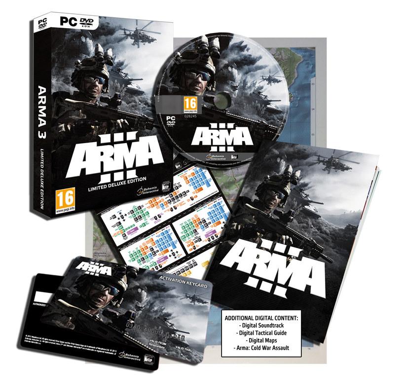 ARMA III - limitowana edycja /materiały prasowe