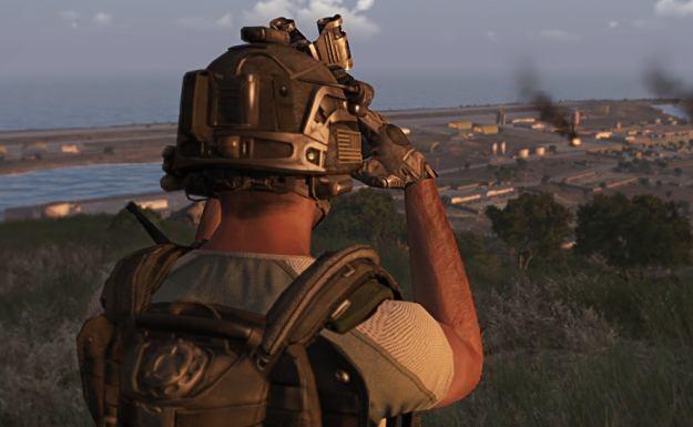 ArmA III - motyw graficzny /Informacja prasowa