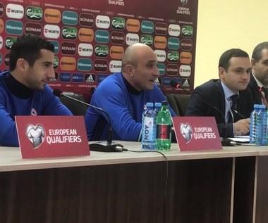 Armenia - Polska. Artur Petrosjan przed meczem. Wideo