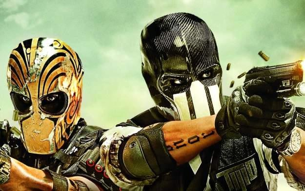 Army of Two: The Devil's Cartel - motyw graficzny /