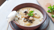 Aromatyczna zupa z kaszą i ziemniakami