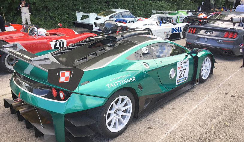 Arrinera na Goodwood Festival of Speed /