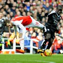 Arsenal Londyn - Leicester City 2-1 w 26. kolejce Premier League