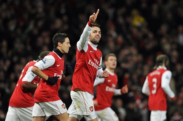 Arsenal wygrał z Chelsea 3-1. Cesc Fabregas strzelił jedną z bramek /AFP