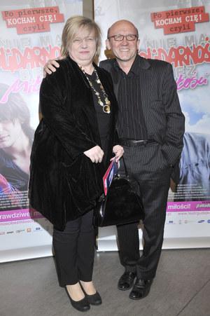 Artur Barciś z żoną Beatą /fot  /AKPA