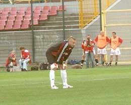 Artur Boruc był bez wątpienia najlepszm piłkarzem Legii w Lubinie /legia.net
