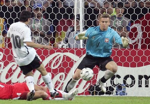 Artur Boruc był najlepszym piłkarzem meczu /AFP