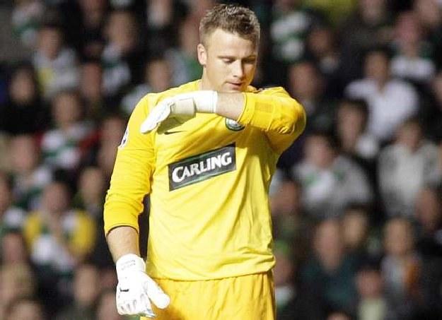 Artur Boruc jeszcze w barwach Celtiku Glasgow /AFP